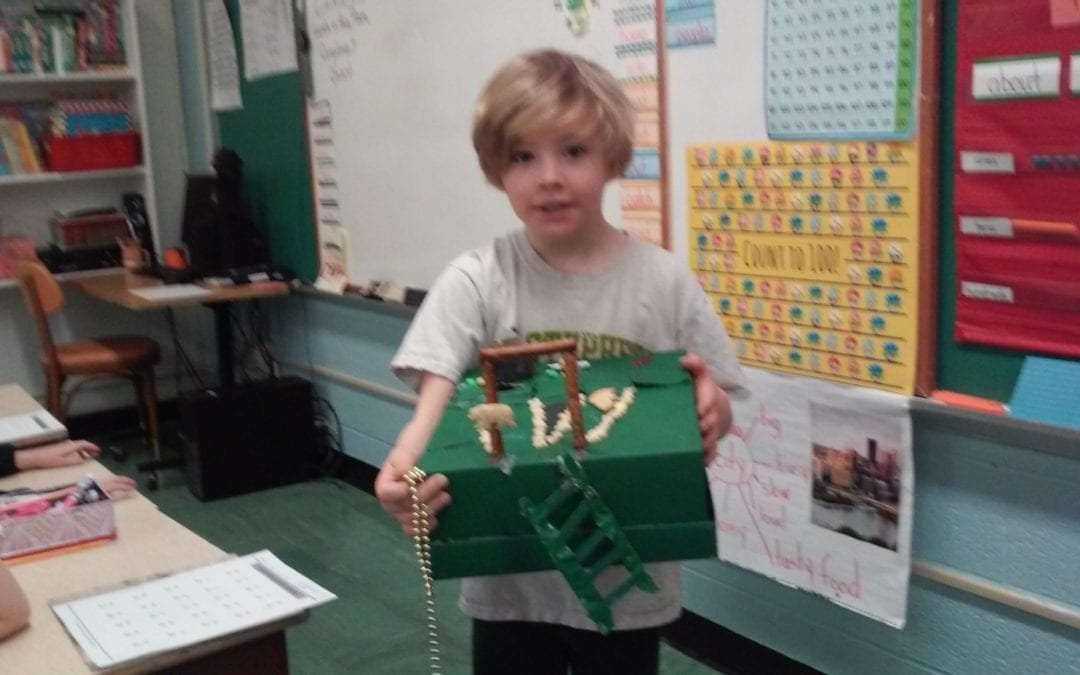 First Graders have wonderful imaginations!!