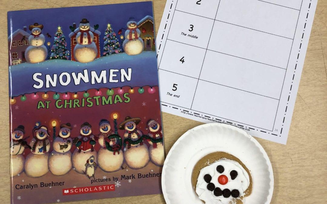 Snowmen At Christmas.Snowmen At Christmas St Stephen School
